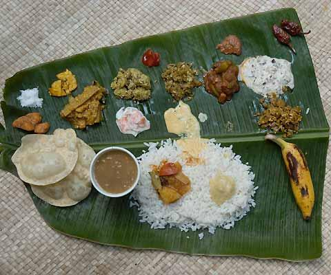 Onam Sadya menu - A Grand Feast To Celebrate Harvest